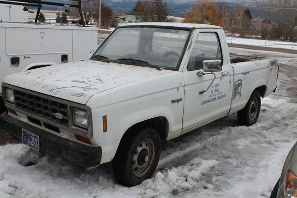 83 Ford Ranger 2 WD