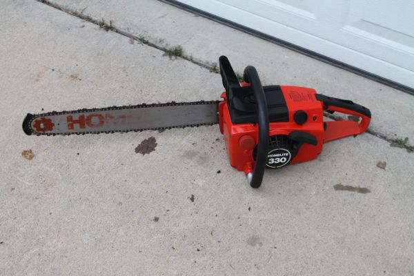 Vintage Homelight 330 Chainsaw