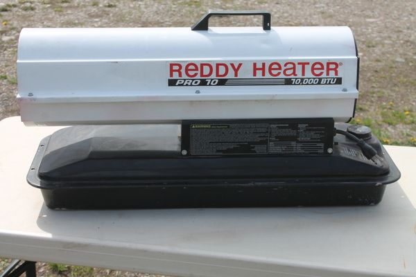 Reddy Heater Pro 10 #R70TC 10,000 BTU Diesel Heater