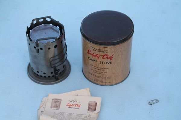 1950's Vintage Vulcan Safety Chef Camp Stove