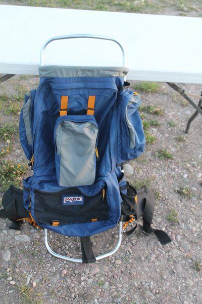Jansport Aluminum Backpack