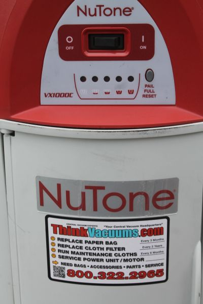 NuTone 220V. Central Cleaning/Vacuum System