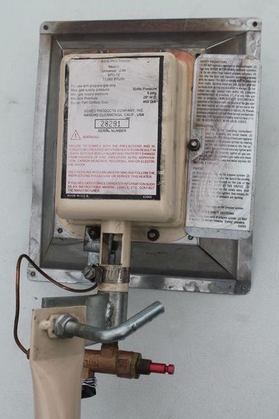 Infra-Red SPC-12 11,000 BTU/Hr. Propane Heater