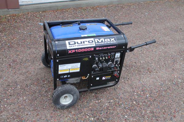 DuroMax XP-10000E 10,000 Watt Generator