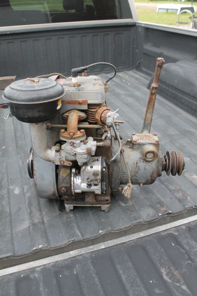 Wisconson 1 Cyl. Air Cooled Engine With PTO