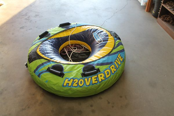 46'' H2OVERDRIVE Towable Water Tube