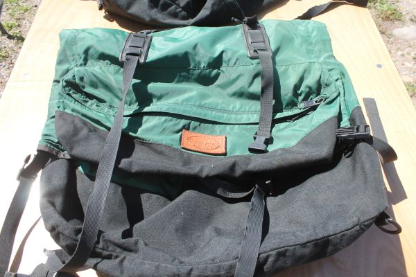 Pair Of Shasta Packs Nylon Saddle Bags