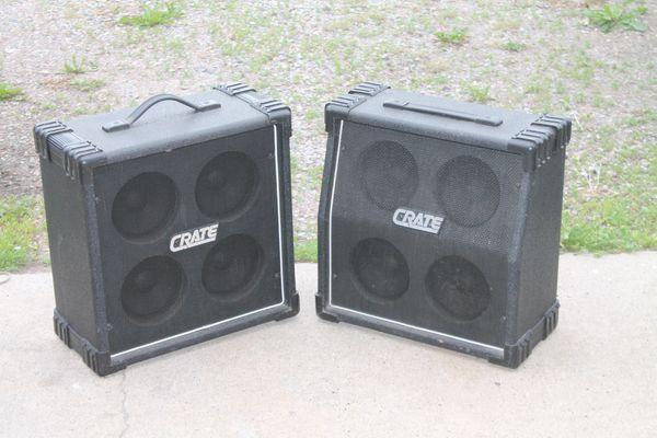 Crate GE-406R Speakers