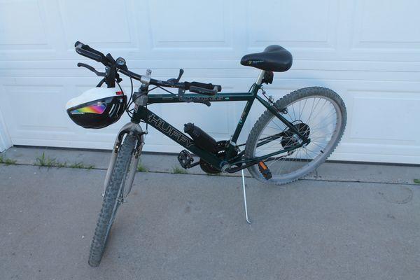 Vintage Medium Size Huffy ''Blades'' 18 Speed Mountain Bike ( Made In USA )
