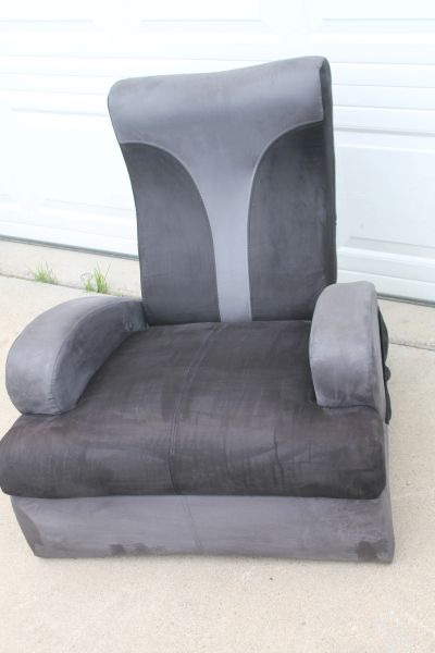 Gaming/Lounge Chair With Fold Back