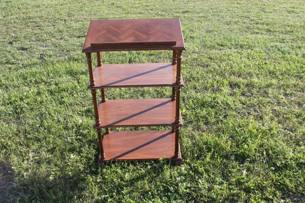 4 Level Wood Writing Stand