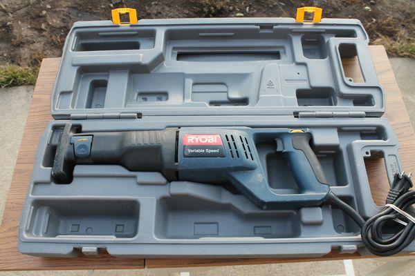 Ryobi RJ161V Variable Reciprocating Saw
