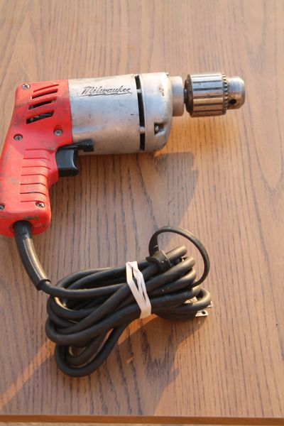 HD Milwaukee 3/8 Variable Speed Drill