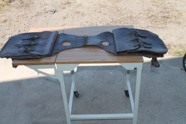 Hand Made Leather Saddle Bags