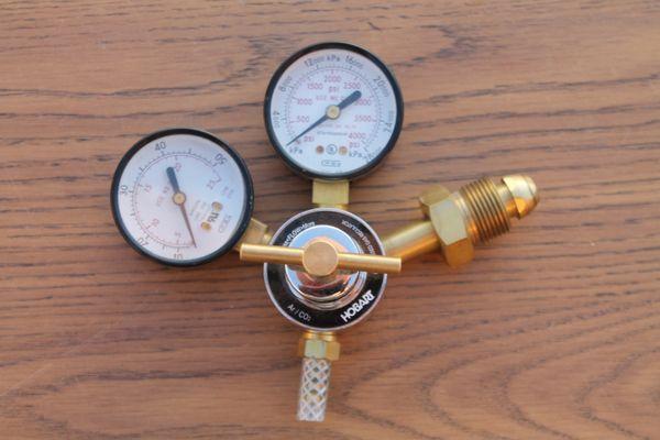 Hobart #237703 Flow Gauge Regulator For Mig Welder