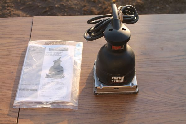 Porter Cable Mo.# 330 Speed-Bloc Finishing Sander
