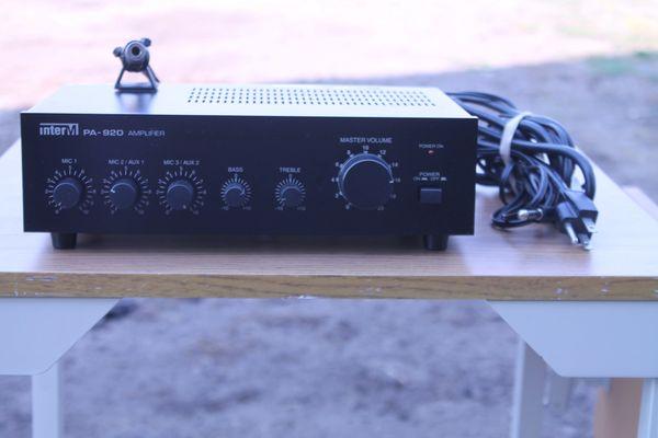 Inter M PA-920 PA Amplifier