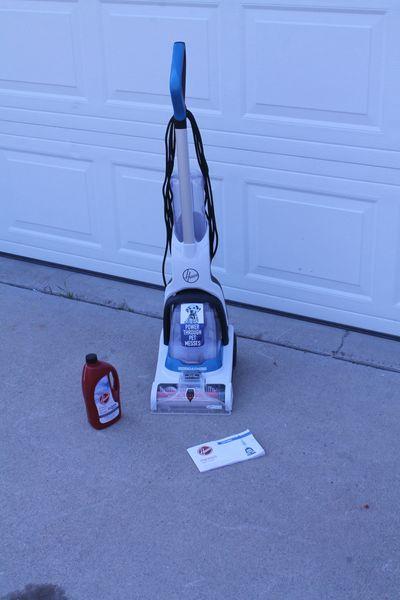 Lightweight Hoover Power Dash Heat Force Pet Cleaning Carpet Shampooer