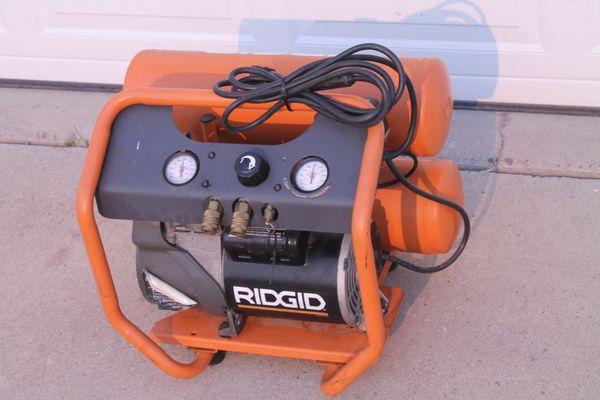 Rigid Twin Stack Portable Air Compressor
