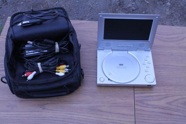 Protron Model PDV-288 Portable DVD Player