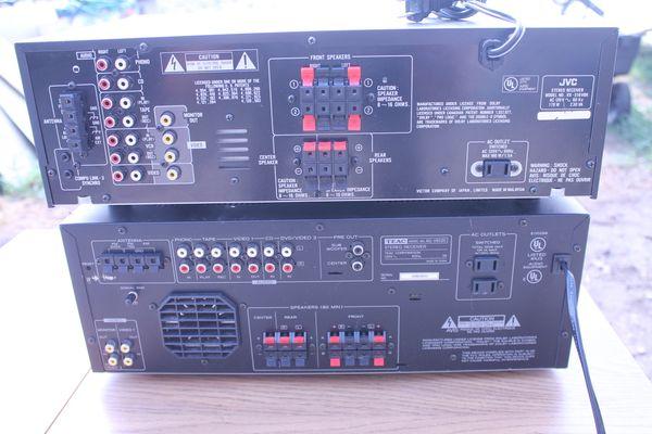 JVC RX-518 Or Teac AG-V8520 5.1 Surround Sound Recievers