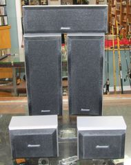 Pioneer 5-Piece Surround Speakers