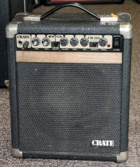 Crate CR-110 Combo Guitar Amplifier-Portable