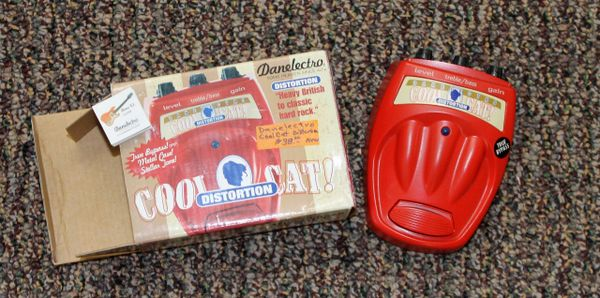 Danelectro Cool Cat CD-1 Distortion True Bypass Effects Pedal
