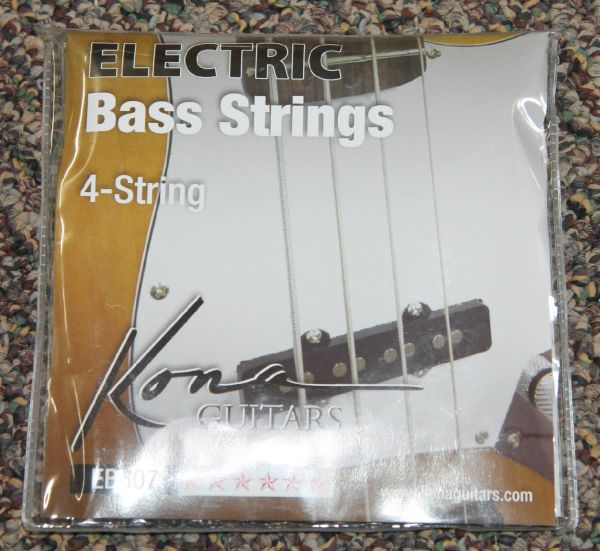 New Kona Bass Strings