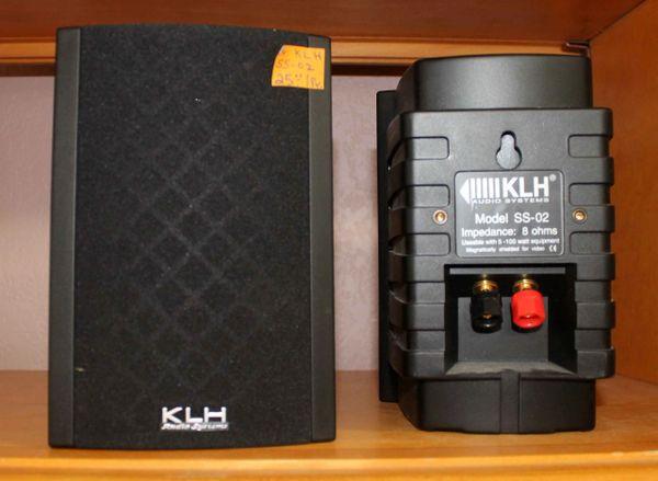 KLH Indoor/Outdoor and Multi‑purpose SS‑02 2‑way Speakers
