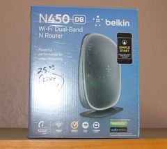 N450 DB Belkin WiFi Dual Band Router