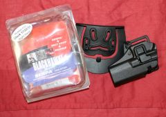 NEW Black Hawk CQC Serpa Holster Black