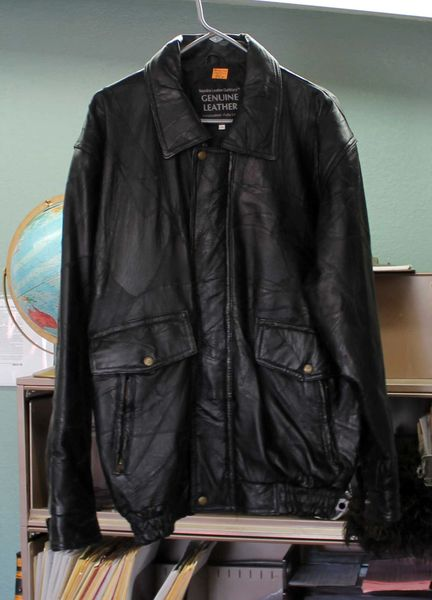 Napoline Leather Outfitters 2X Black Leather Jacket