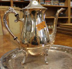 Leonard Silverplate Tea Service