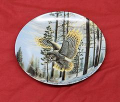 Evening Glimmer Collector Plate