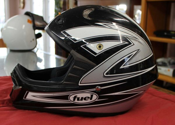 Fuel Full Face Moto X Helmet
