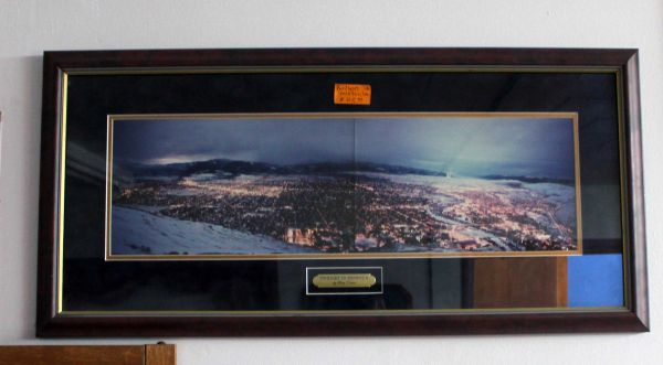 """Twilight in Missoula"" by Gary Votair Framed Photo"