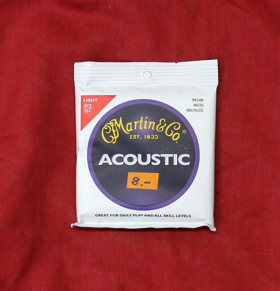 Martin & Company Acoustic Guitar Strings
