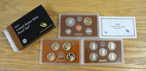 2011 United States Mint Proof Set