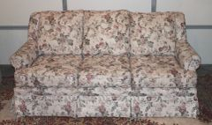Modern 6' Floral Print COUCH/Sofa Comfortable & Clean