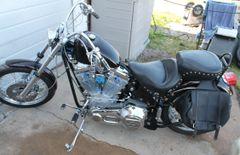 2005 Custom Built Motorcycle Old School Softail W. Harley Davidson Evo Motor