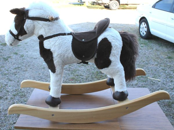 Plush Rocking Horse with Sounds