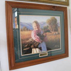 """Love A Duck"" Framed Picture by Robert Duncan w/ Certificate of Authenticity"