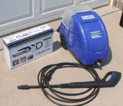 Electric Clean-A-Bout Powerwasher Pressure Washer System