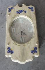 Hand Painted Country Clock