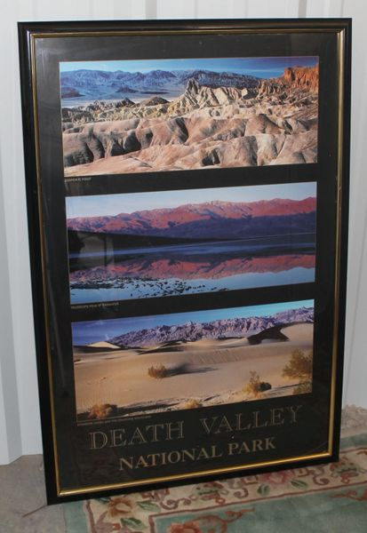Death Valley National Park Framed Poster