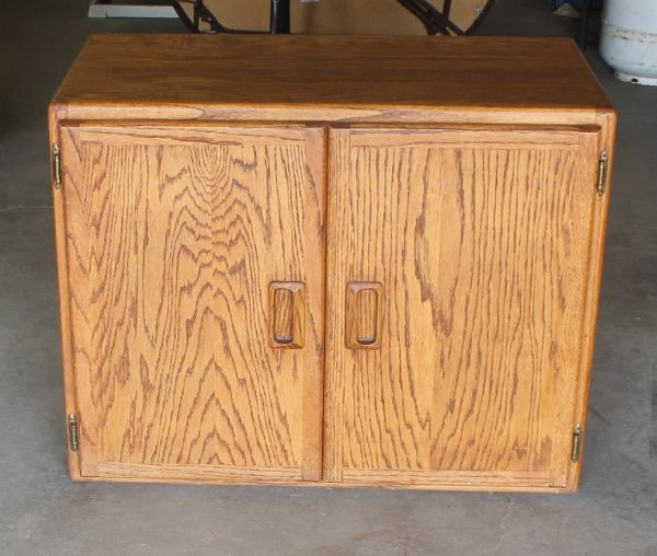 Solid Oak Cabinet by Oak Expression Billings Montana