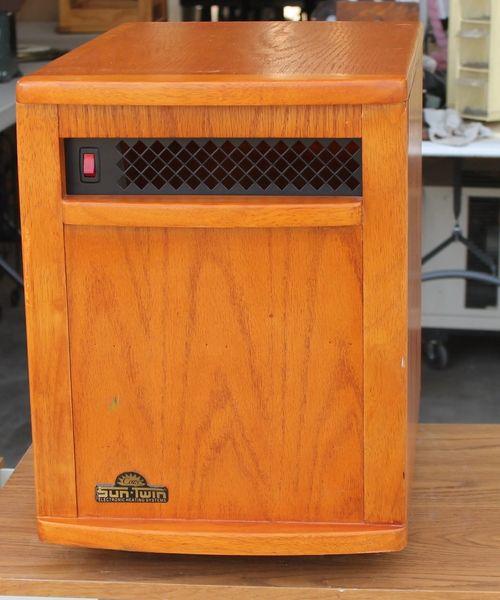 Sun Twin STW1500 Quartz Infared Portable Heater 1500Watts
