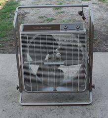 Vintage Sears Kenmore Roll-A-Matic Fan w/ Automatic Reversible