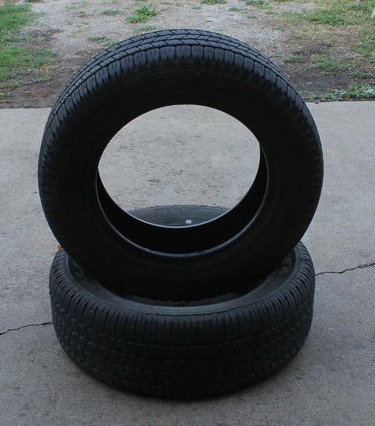 2 Good Year Wrangler SR-A P265/60R18 4ply Tires